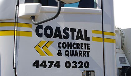 Contact Coastal Concrete & Quarry 4474 0320